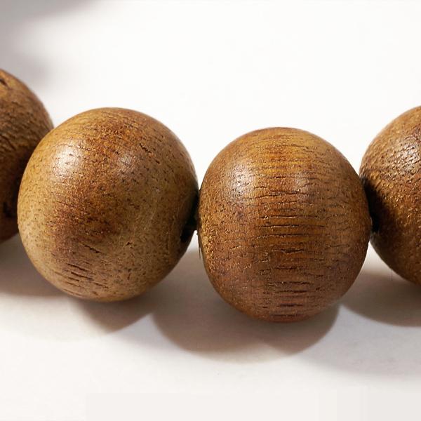 最高の香木★沈香(じんこう) アロマ 白沙沈香ブレスレット φ16mm