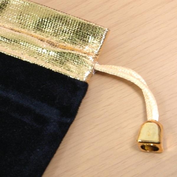 高級四角ベロアポーチ(巾着袋・ブレスレット専用ポーチ・バッグ) 50枚1セット