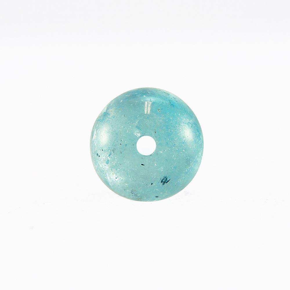3A級 ブルートパーズ 8mm 一連 連売り 丸玉 素材 パーツ ビーズ 天然石 パワーストーン
