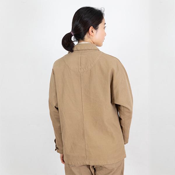 ツイルニットジャケット
