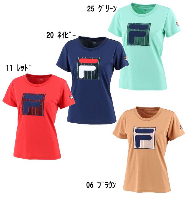 【フィラ】FILA VL2317(レディス)チュールTシャツ 2021春夏ウェア