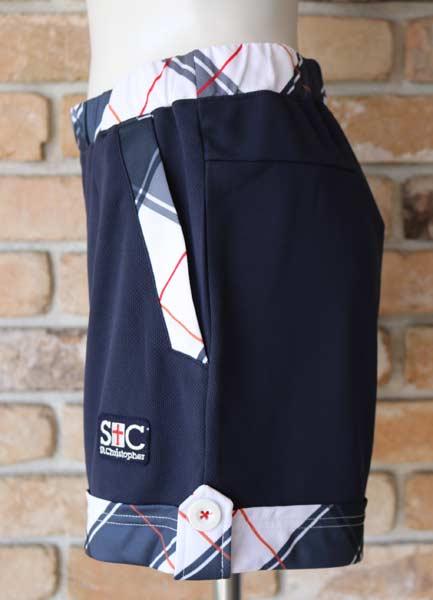 【セントクリストファー】 St.Christopher STC-BAW6264 2021秋冬(レディス)チェックゲームシャツショートパンツ