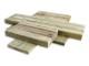簡単に設置できる木製タイル MUKUタイル クロスタイプ 1�