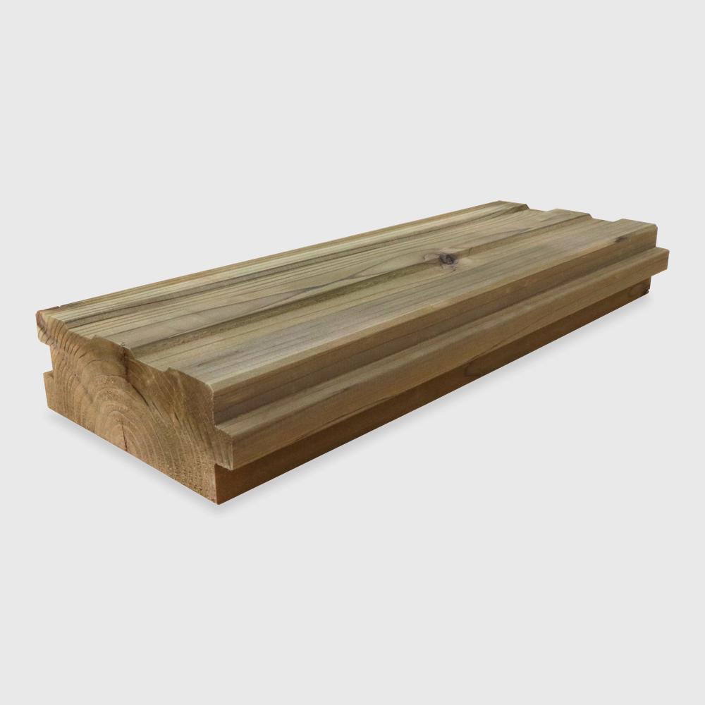 簡単に設置できる木製タイル MUKUタイル(プロトタイプ) ストレートタイプ 1�