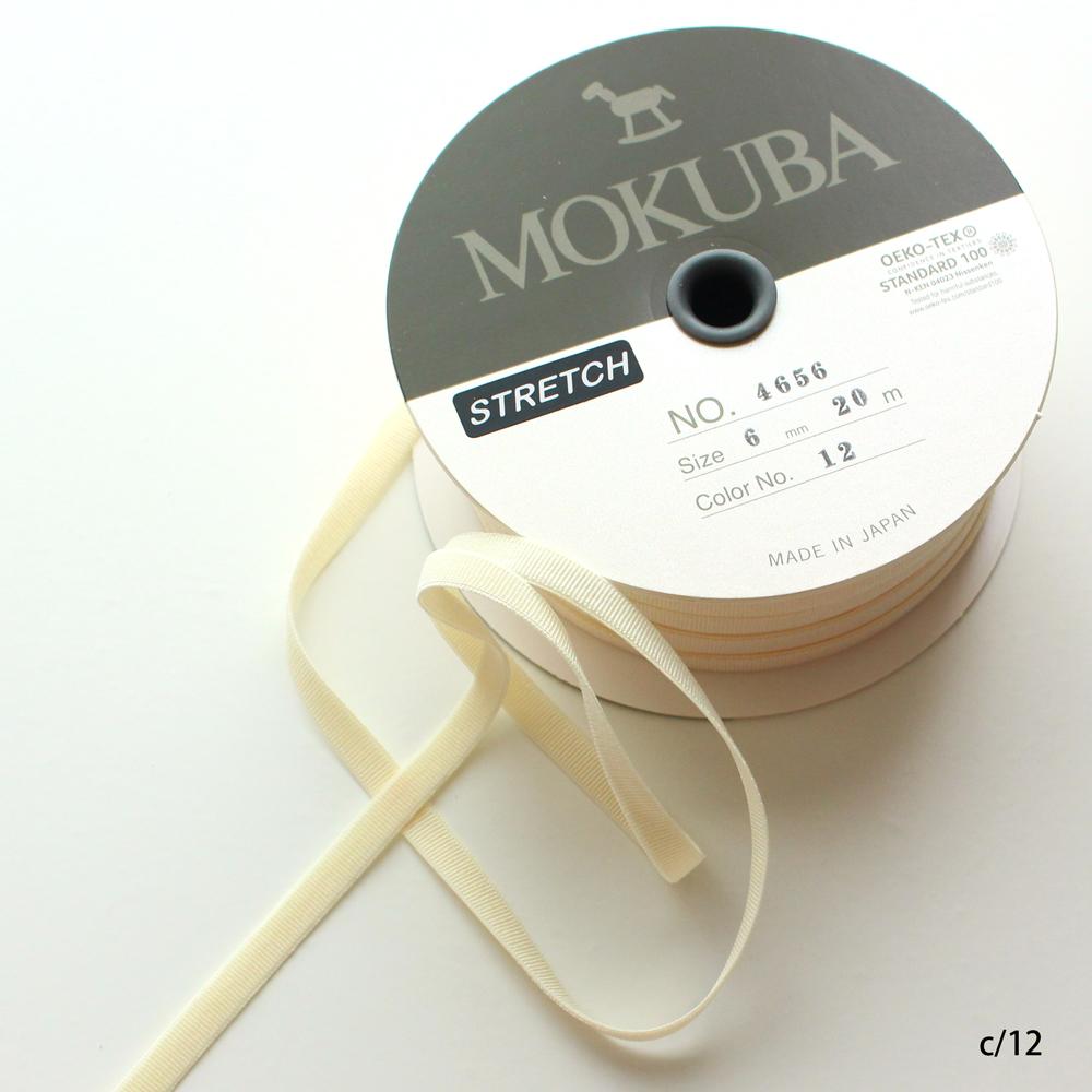 間違えて仕入れちゃったSALE★35%オフ!★MOKUBA4657-6mm ストレッチサテンリボン