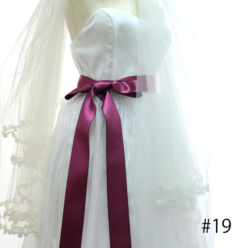 【5幅/24色】MOKUBA 1163 タフタサテンリボン/1反10m巻