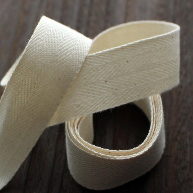 【9サイズ/綿杉綾】0.5mm厚 No,6250コットン杉綾テープ 持ち手 50m巻