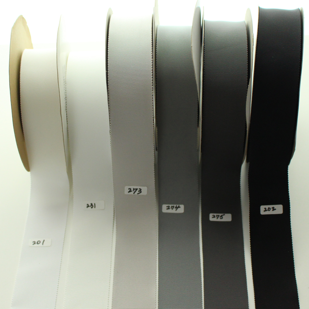 【100色/11幅】 No,7100グログランリボン 日本製 30m巻き
