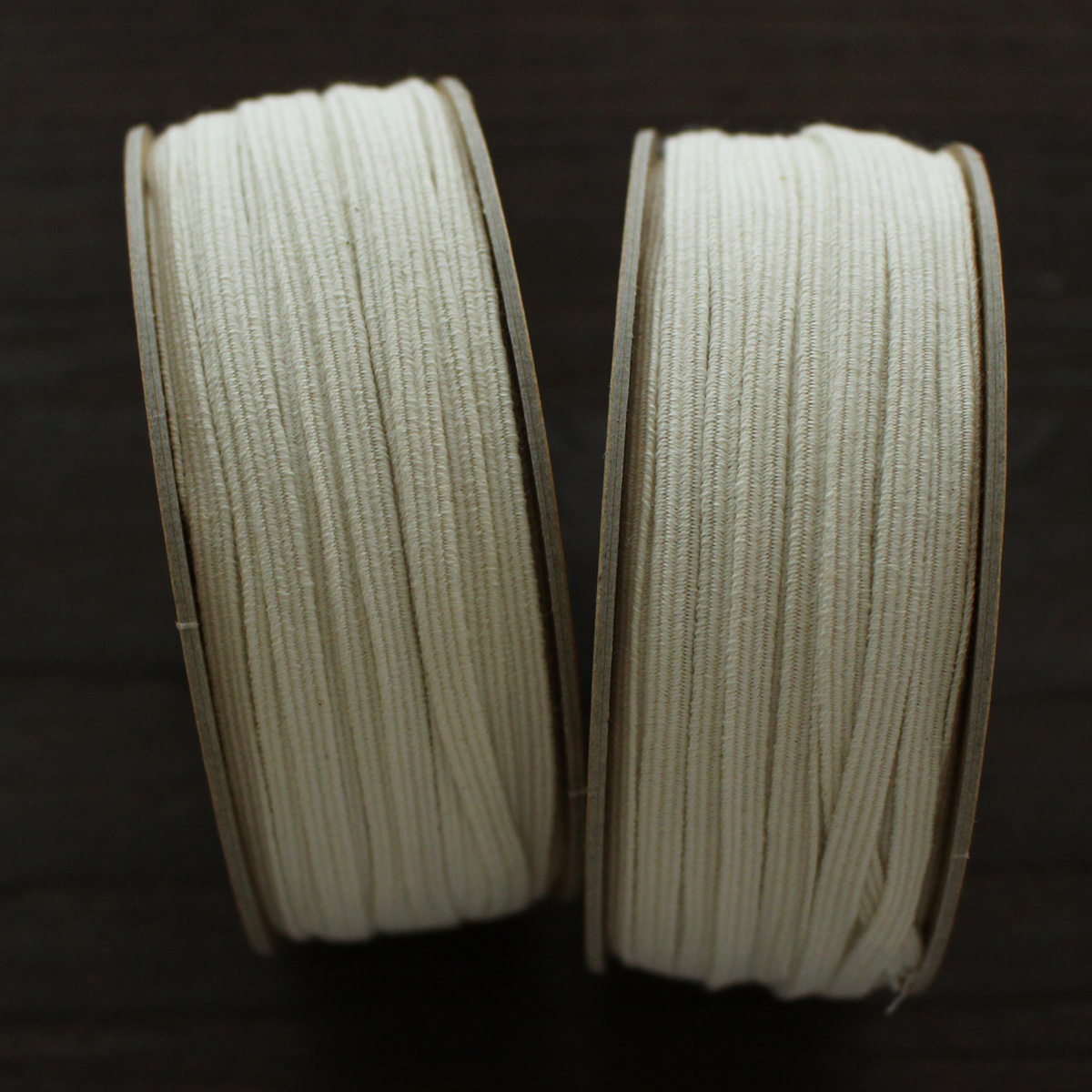No,1228−4.5mm オーガニックコットン 平ゴム マスクゴム