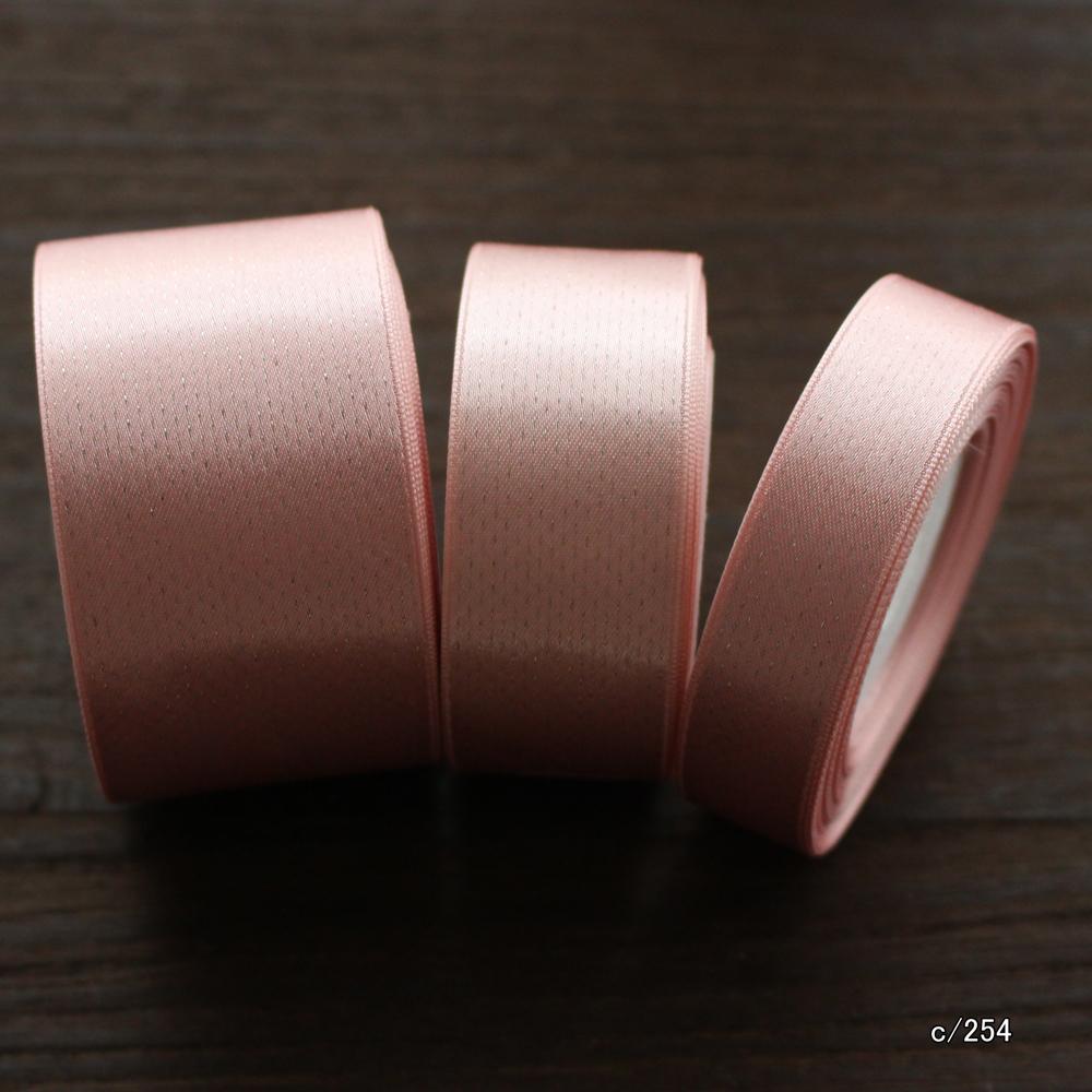 【44色/5幅】No,6355 ブリリアントリボン ブライトリボン 両面サテンリボン 日本製