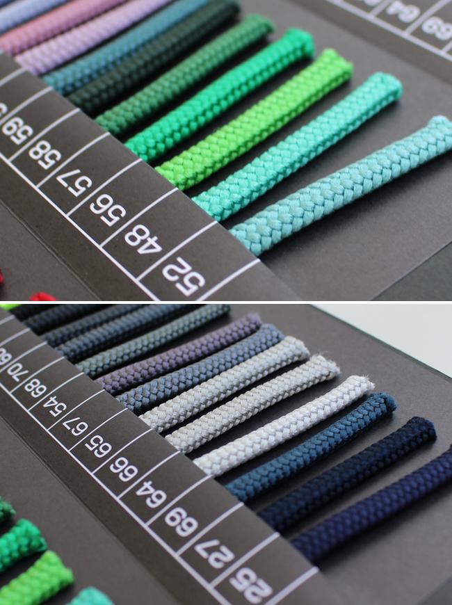 【83色/7mm・10mm・15mm】ポリエステル100%山道テープ 30m巻(3076.3077.3078)