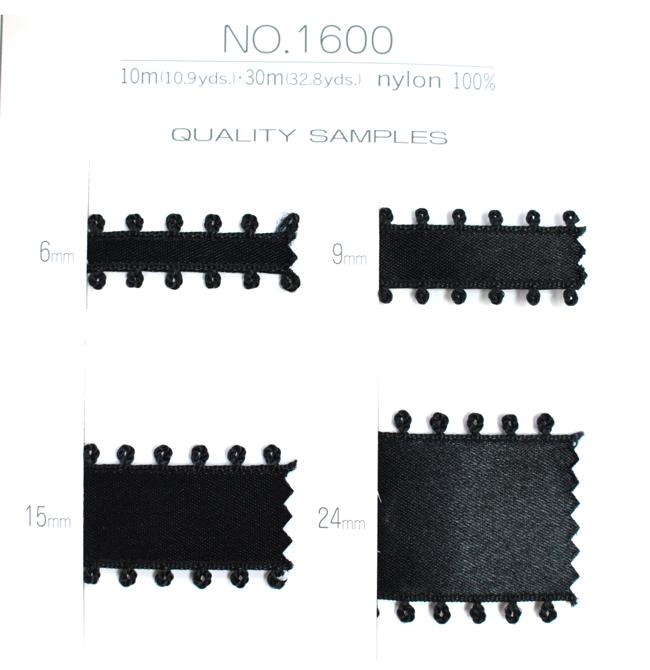 【4幅/20色】MOKUBA 1600Kピコサテンリボン/10m巻
