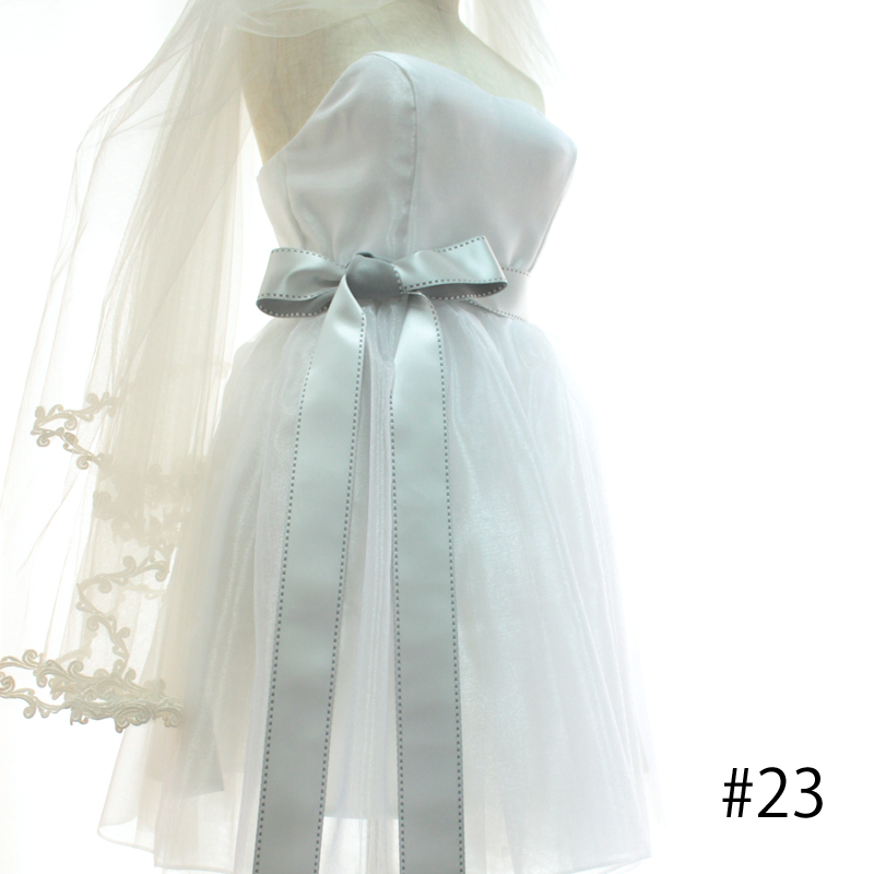 【4幅/24色】MOKUBA 1162 タフタサテンリボン/1反10m巻
