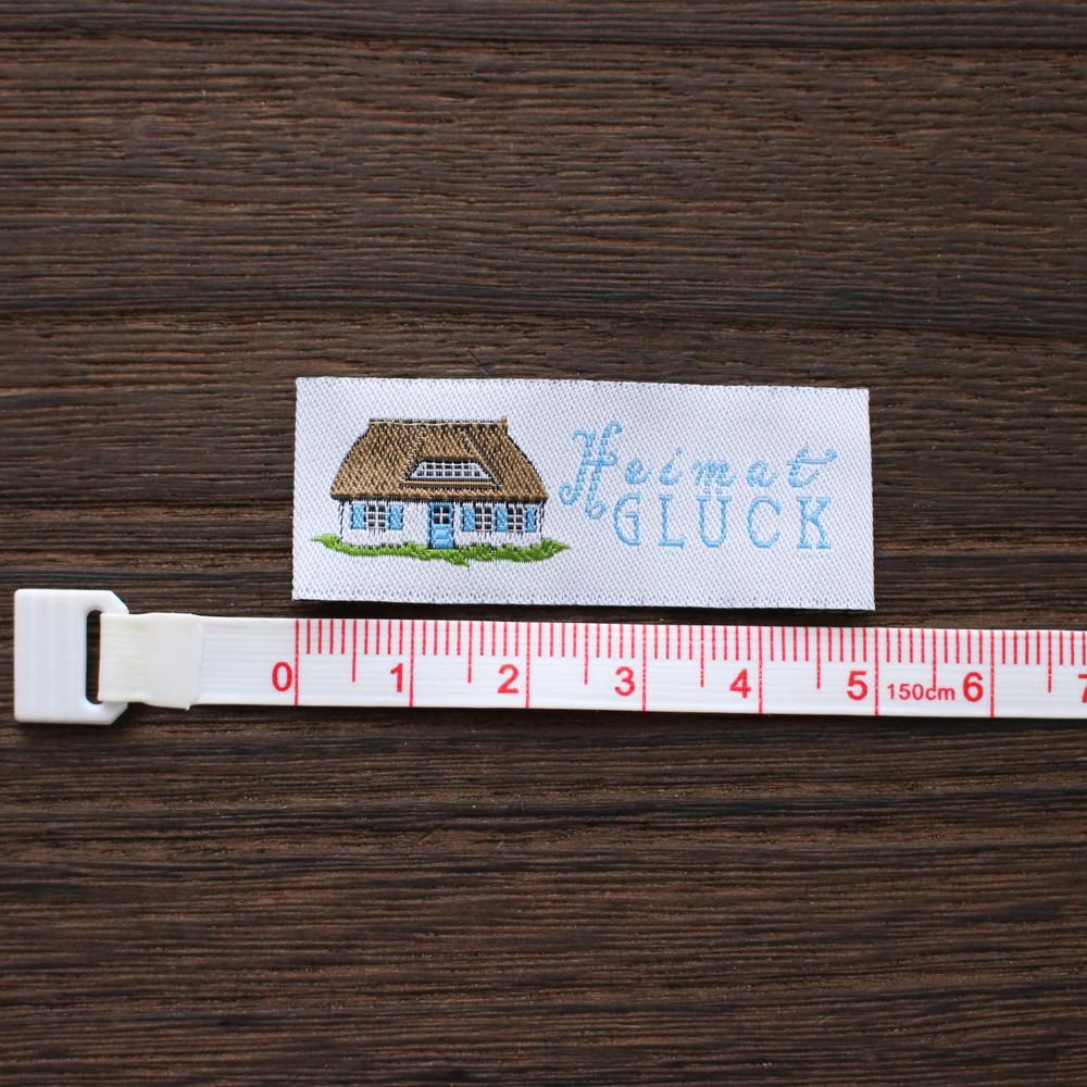 【acufactum318】 約2cm×約5cm-お家のタグ ラベル 織ネーム