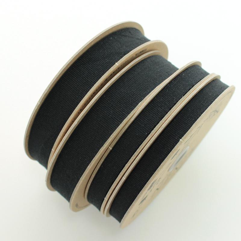 【6幅/10色】No,1156 リネンリボン リネン100% 平織りテープ