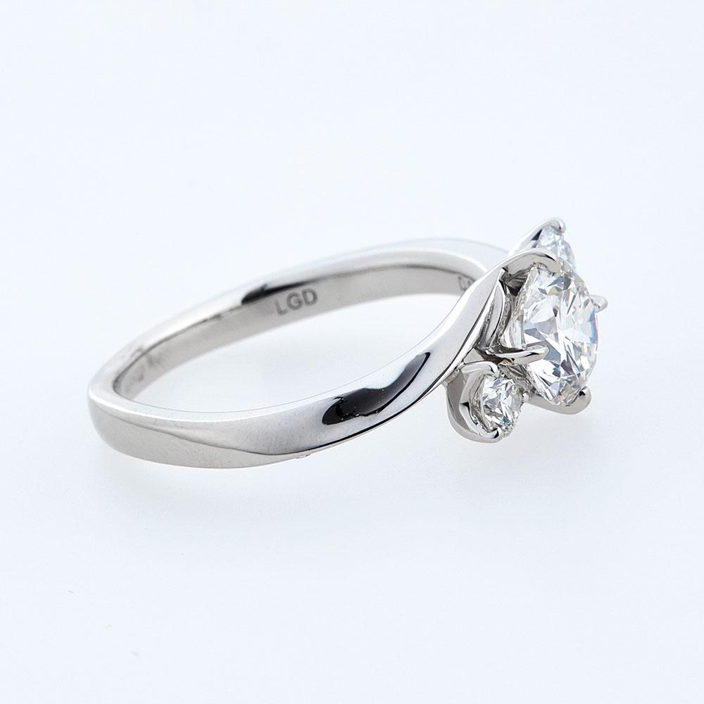 セレンディピティ ラボグロウン ダイヤモンド 0.3ct リング プラチナ950