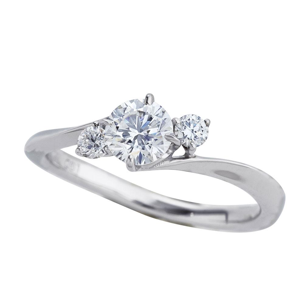 セレンディピティ ラボグロウン ダイヤモンド 0.5ct リング プラチナ950