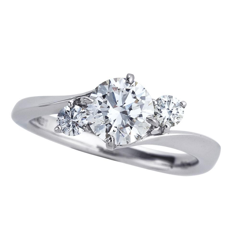 セレンディピティ ラボグロウン ダイヤモンド 1.0ct リング プラチナ950