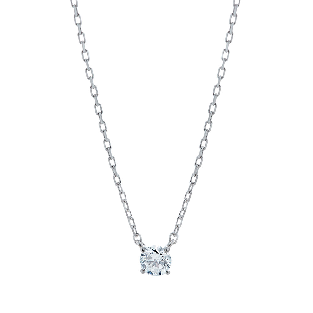 Cue 0.1ct Silver|ネックレス