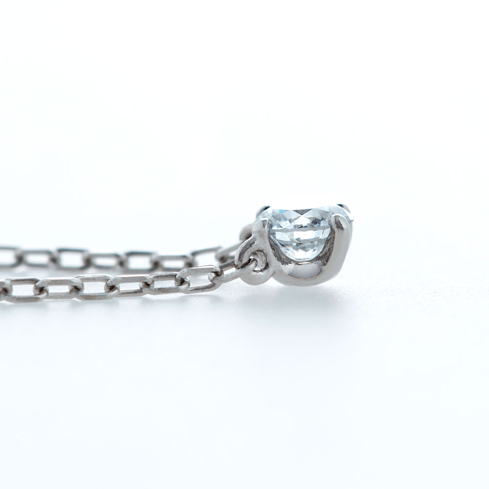 Cue 0.3ct Silver ネックレス