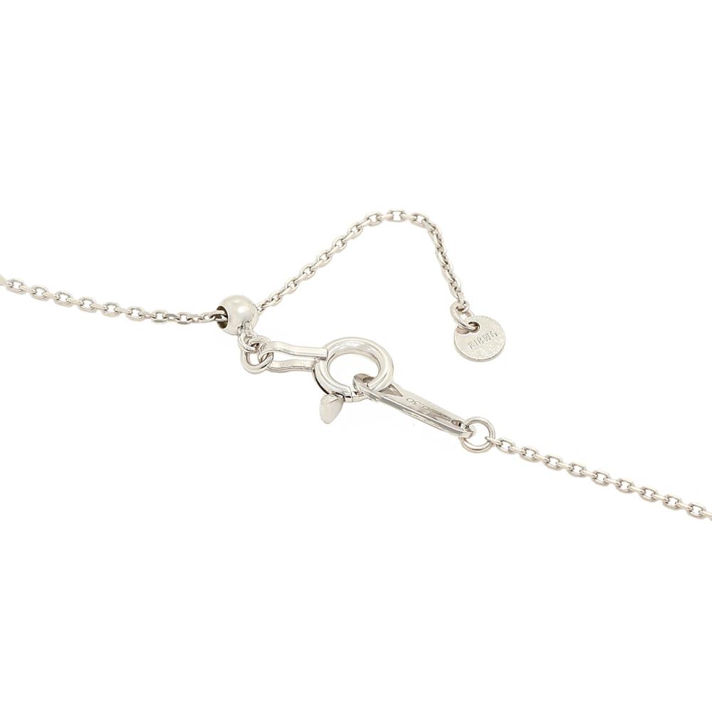 ステラ ラボグロウンダイヤモンド ライン ネックレス K18WG