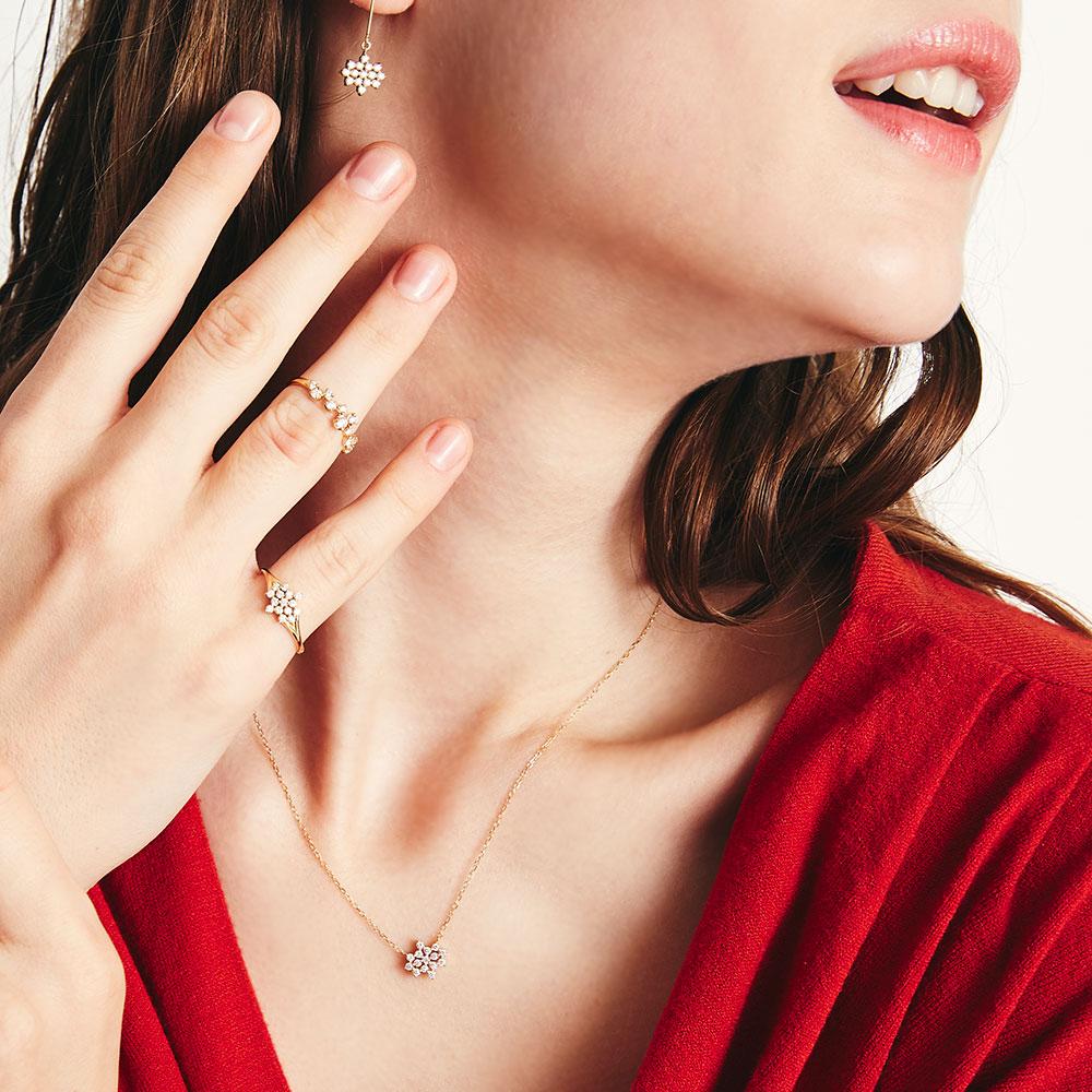 ステラ ラボグロウンダイヤモンド リング K18YG