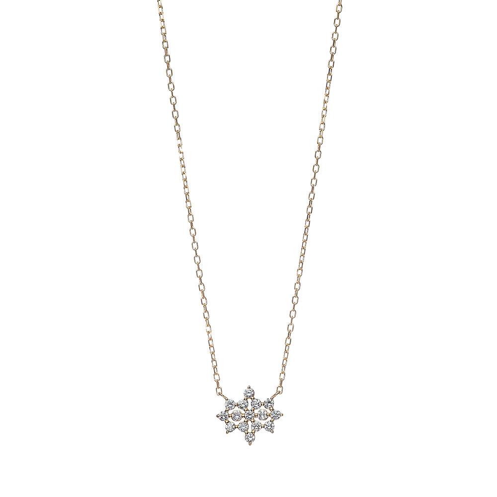 ステラ ラボグロウンダイヤモンド ネックレス K18YG