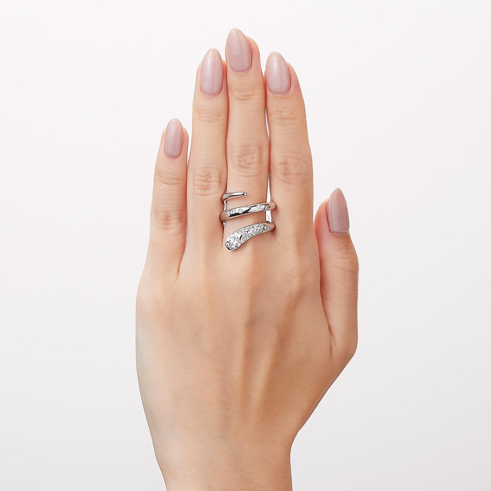 トラジェクトリー ラボグロウン ダイヤモンド 中石 0.7ct リング K18YG