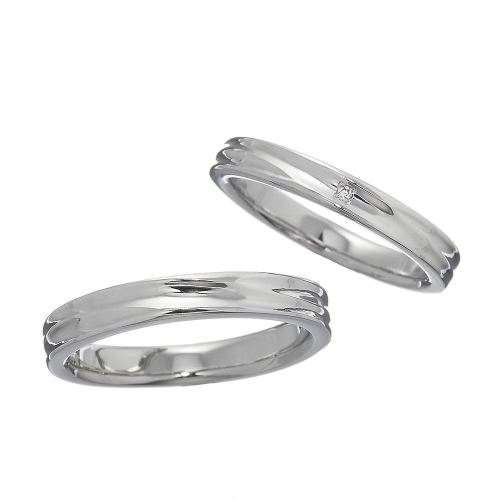 テラ マリッジ リング (レディース、メンズセット) プラチナ950 bridal ブライダル