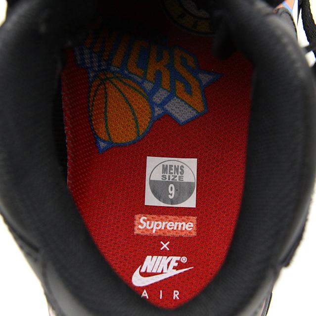 NIKE AIR FORCE 1 MID SUPREME NBA BLACK AQ8017-001