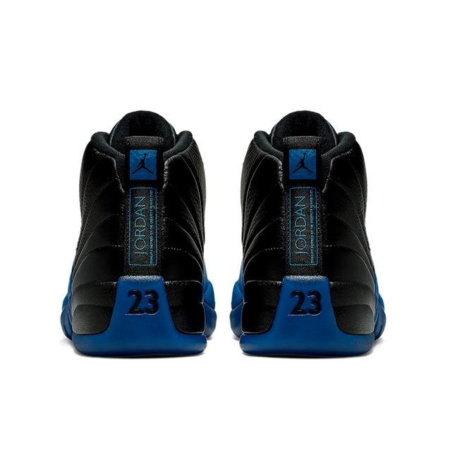 AIR JORDAN 12 RETRO BLACK GAME ROYAL 130690-014