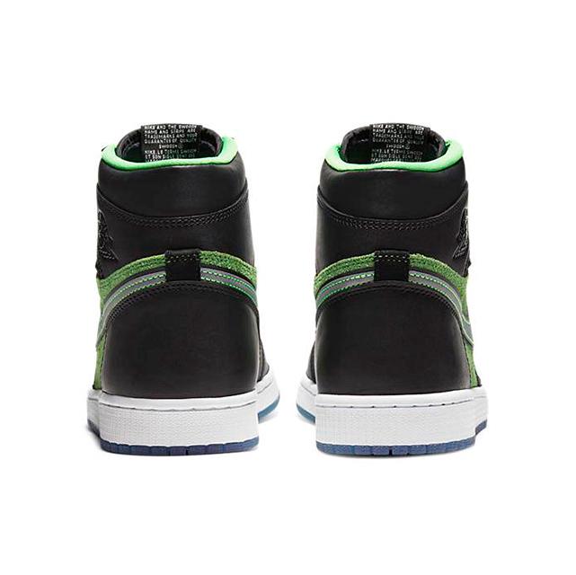 NIKE AIR JORDAN 1 RETRO HIGH ZOOM BLACK GREEN CK6637-002