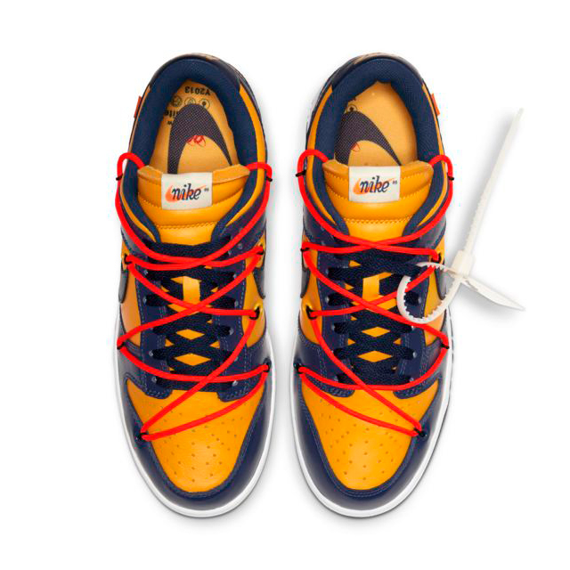 NIKE DUNK LOW OFF-WHITE MIDNIGHT NAVY CT0856-700