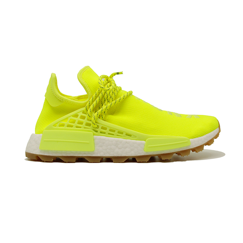 ADIDAS NMD HU TRAIL PHARRELL NOW IS HER TIME SOLAR YELLOW EF2335
