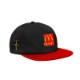 TRAVIS SCOTT X MCDONALD'S SMILE HAT BLACK/RED