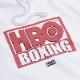 KITH × HBO BOXING VINTAGE HOODIE WHITE