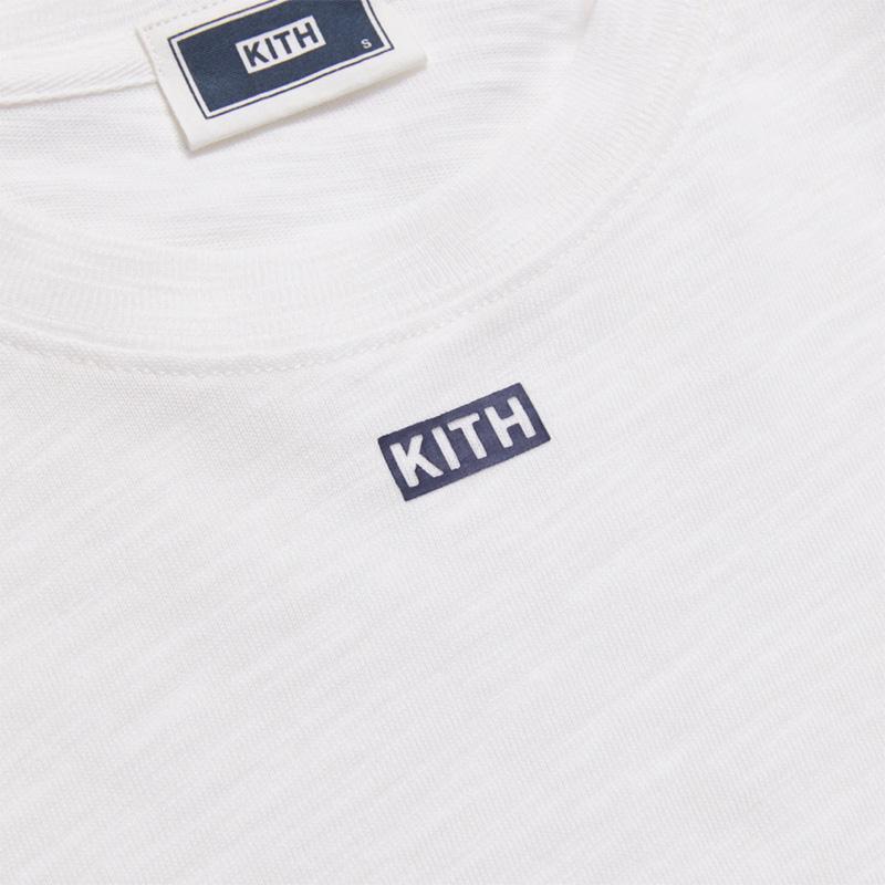 KITH JFK L/S TEE WHITE