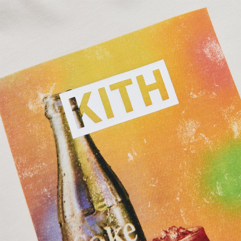 KITH × COCA-COLA SPOTLIGHT VINTAGE TEE IVORY
