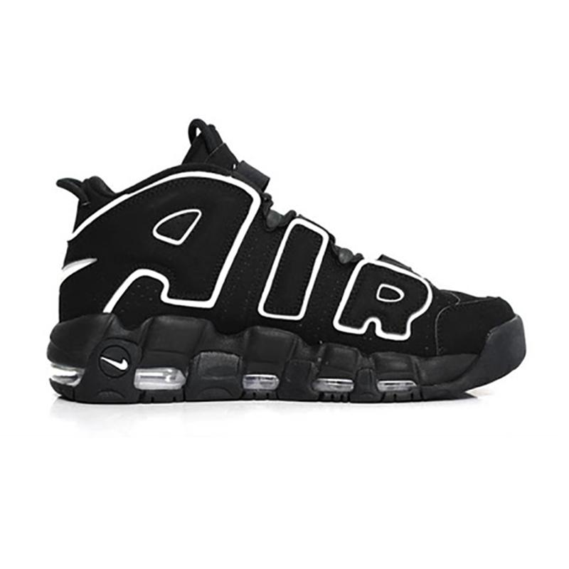 NIKE AIR MORE UPTEMPO BLACK/WHITE 414962-002