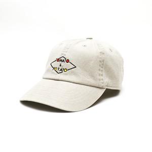 TOMATO&POTATO 「1ST」LOGO CAP