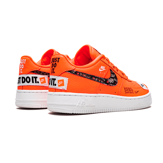 NIKE AIR FORCE 1 LOW JUST DO IT PACK ORANGE (GS) AO3977-800