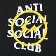 ANTI SOCIAL SOCIAL CLUB X FRAGMENT YELLOW BOLT TEE