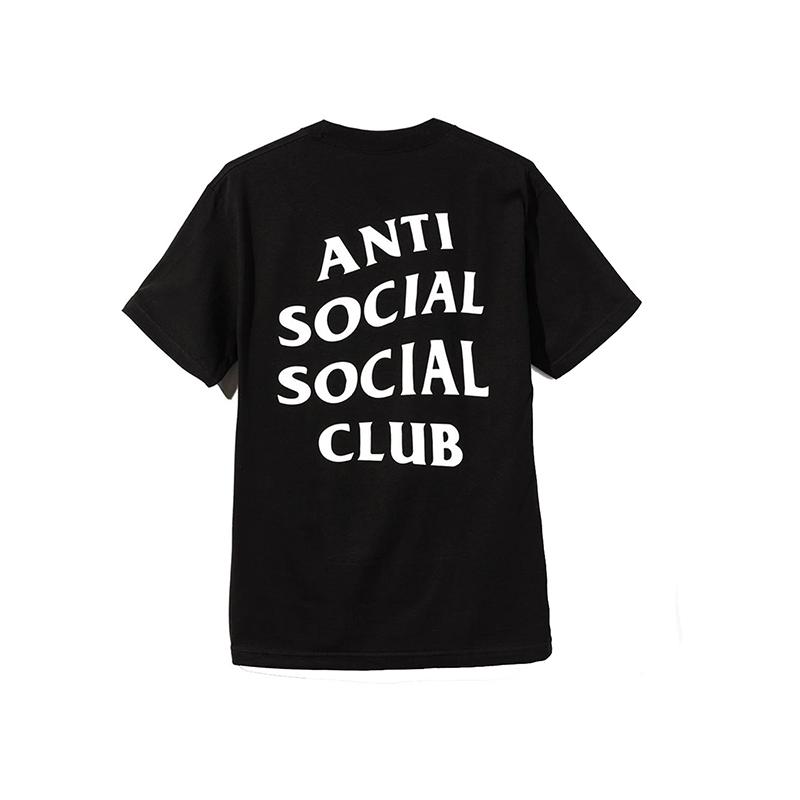 ANTI SOCIAL SOCIAL CLUB LOGO 2 TEE BLACK