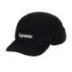 SUPREME DEEP PILE EARFLAP CAMP CAP BLACK