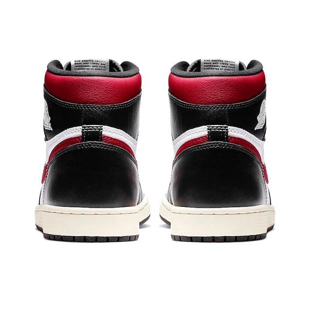 NIKE AIR JORDAN 1 RETRO HIGH BLACK GYM RED 555088-061