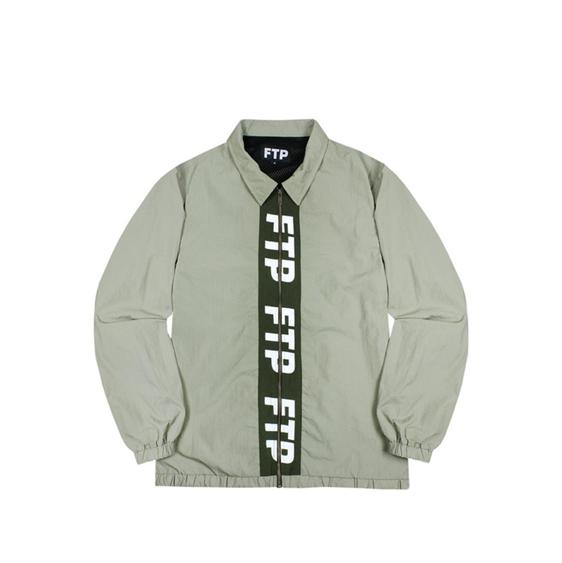 FTP PIPE TRACK JACKET GREEN