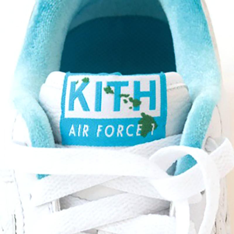 KITH × NIKE AIR FORCE 1 HAWAII DC9555-100