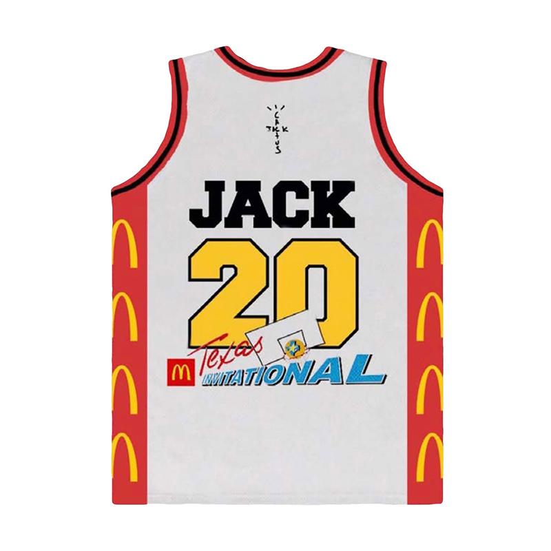 TRAVIS SCOTT X MCDONALD'S CACTUS JACK ALL AMERICAN JERSEY