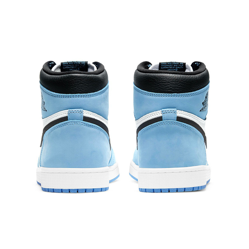 NIKE AIR JORDAN 1 RETRO HIGH OG WHITE/UNIVERSITY BLUE 555088-134