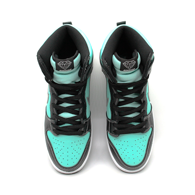 "NIKE DUNK SB HIGH DIAMOND SUPPLY CO. ""TIFFANY"" 653599-400"